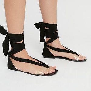 Free people tie sandles